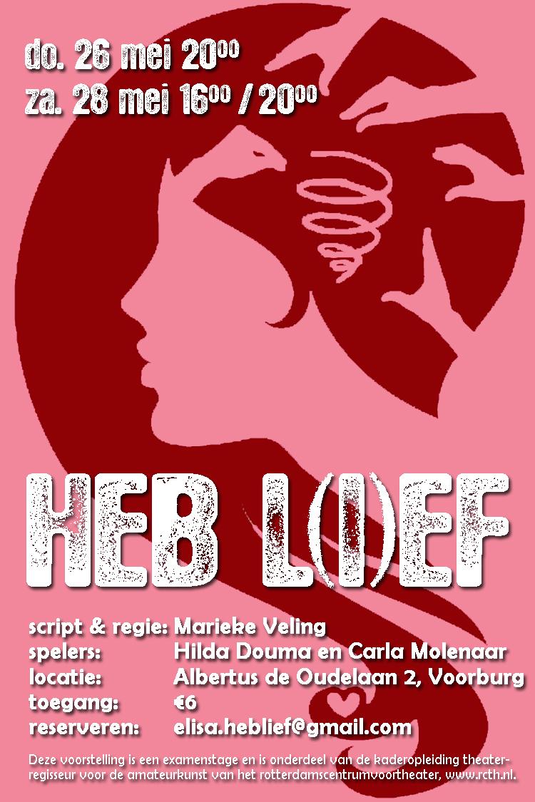 Heb l(i)ef - poster
