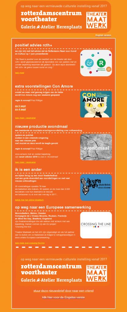 nieuwsbrief NL